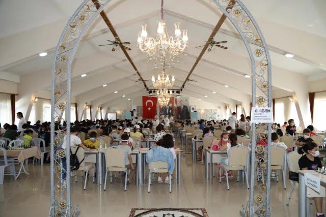 Çubuk Belediyesi 6. Ulusal Açık Satranç Turnuvası başladı